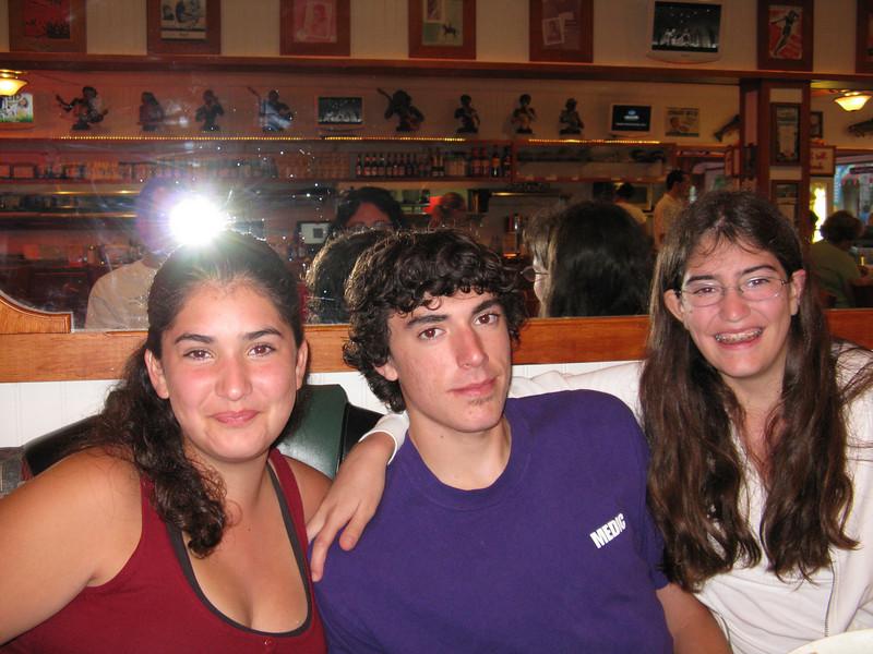 Marissa, Alex and Alicia.