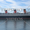 RMS Queen Mary at Long Beach, California.