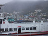 Our ferry, with the town of Avalon in the background (it was a bit cloudy that day).