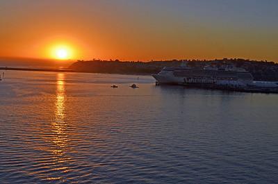 Sunset Approaching the Island Princess
