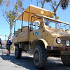 Mercedes Unimog!<br /> This is what drove us around the island.