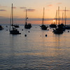 Sunrise over Avalon Bay.