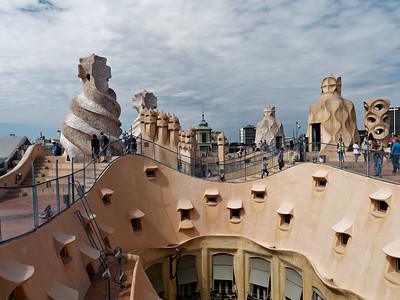 Casa Milà--Gaudi