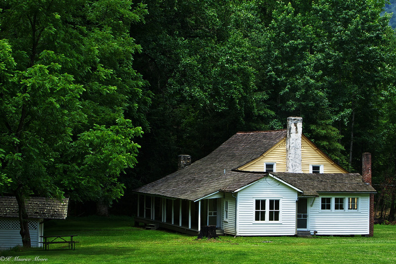 Old homestead, Cataloochee Valley, N. C.