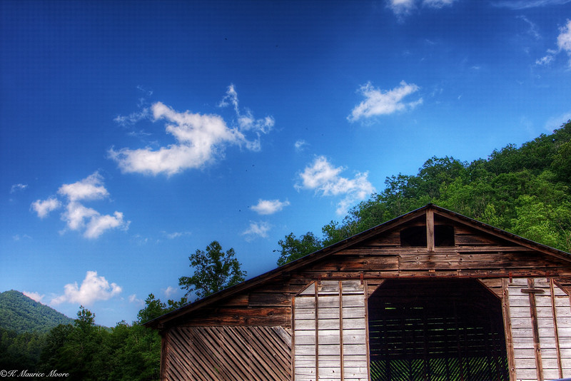 Old barn, Cataloochee Valley, N. C.