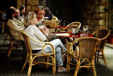 Lunch Time in Peratallada