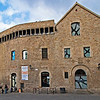 The Museu Diocesà, located adjacent to the Cathedral, incorporates a 4th-century Roman tower and ancient city walls. The Gaudí Exhibition Center is the first museum devoted to Gaudí.  This complex of ancient and medieval buildings houses historical artifacts and provides a good introduction to Antoni Gaudí.