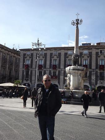 Catania, Sicily - February, 2014