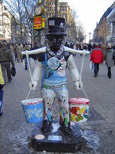 Hamburger Fishmarkte und Wochenmarkte Hamburg Germany - 29 Jan 2006