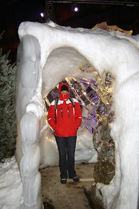 Cath Ice sculpture show Lubeck Germany - 13 Jan 2006