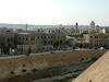 View of Aleppo from the Citadel, including part of its stone-clad hill