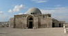 Umayyad Mosque with modern dome on the Citadel hill