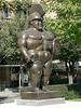 "Fernando Botero's ""Roman Warrior"". I'll refrain from comment..."