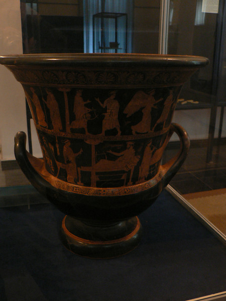 Greek vase in one of Batumi's museums