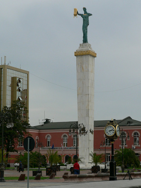 Batumi, on the Black Sea coast is in a part of Georgia once called Colchis, home to Jason's Golden Fleece, the locals haven't forgotten