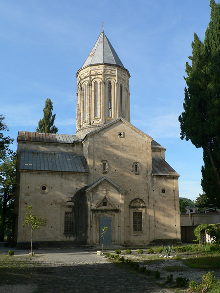 One of several churches in the town itself