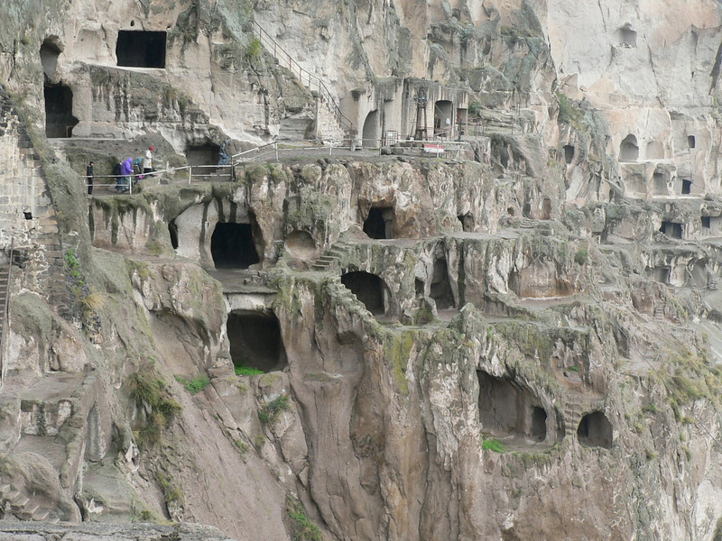 Lots of caves at Vardzia