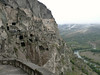 On the way up to Vardzia