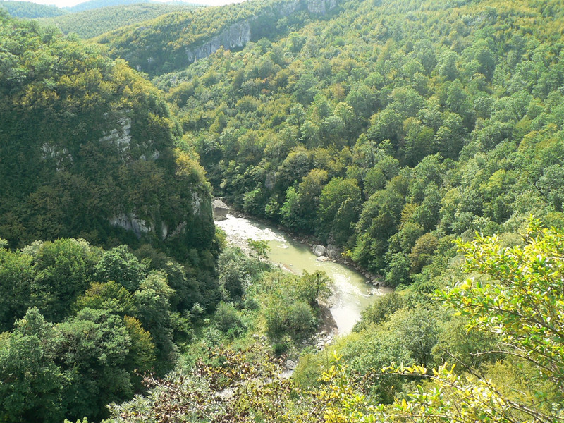The view from Motsameta