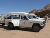 Our transport to Wadi Rum