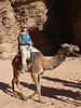 Me, on a reluctant camel