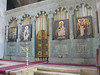 Newly renovated iconostasis