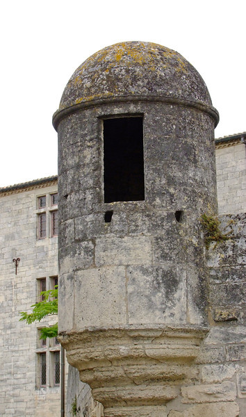 A lookout post.  Very similar posts are located at the fort in St. Augustine, Florida.  These are typical of medieval forts.