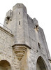 Tower along the walled city of Aigues Mortes.