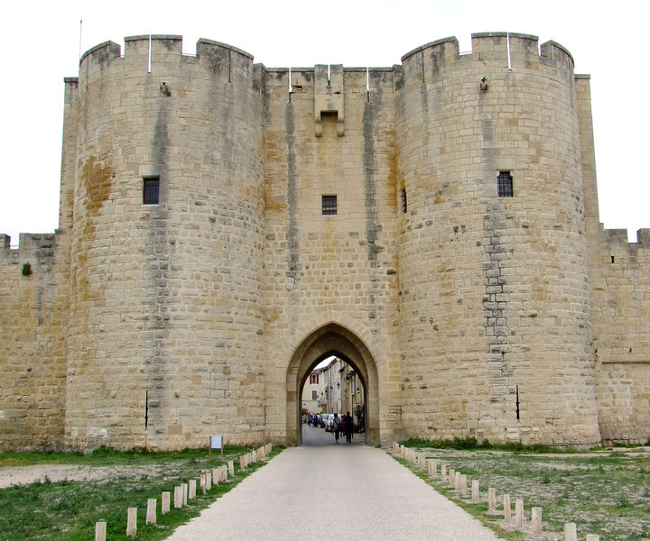 King Louis IX launched the 7th Crusades from here in the mid 13th century.