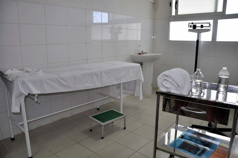 The international clinic for tourists in Santa Maria, Cuba
