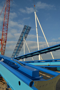 November 2012: A look at the construction of GateKeeper, Cedar Point's first wing coaster.