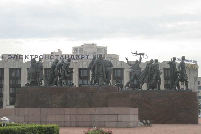 Victory Monument for the Great Patriotic War-St Petersburg,Russia