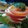 Yum--caprese salad!
