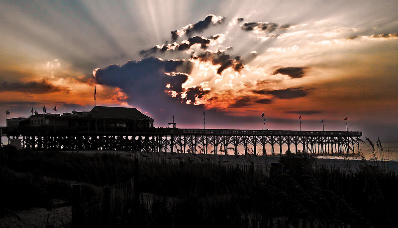 Cell Phone Photography Myrtle Beach Dawn