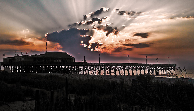 Cell Phone Photography Myrtle Beach at Dawn