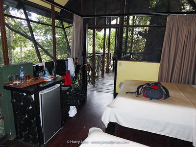 Tree House (inside) at Maquenque Ecolodge
