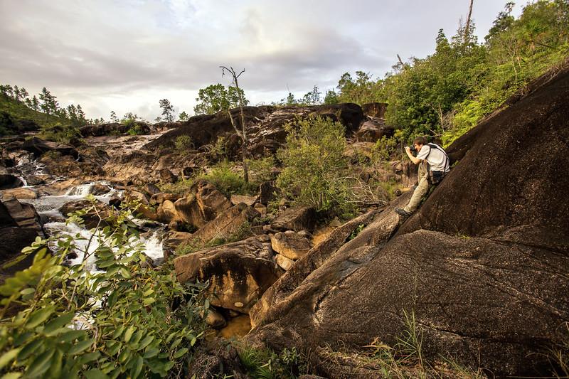 Mountain Pine Ridge Waterfall in Belize
