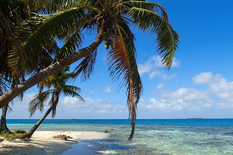 Silk Caye in Belize, Central America
