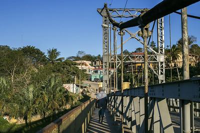 Hawkesworth Bridge in San Ignacio, Belize