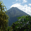 Volcan Arenal this afternoon from the courtyard of Hotel Bijagua.  12.19.2012