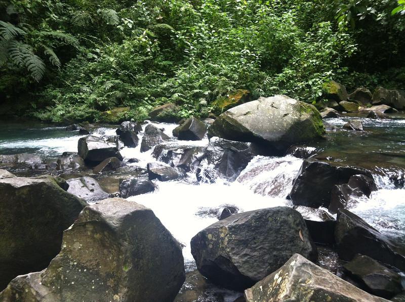 At La Fortuna River, Carterata La Fortuna