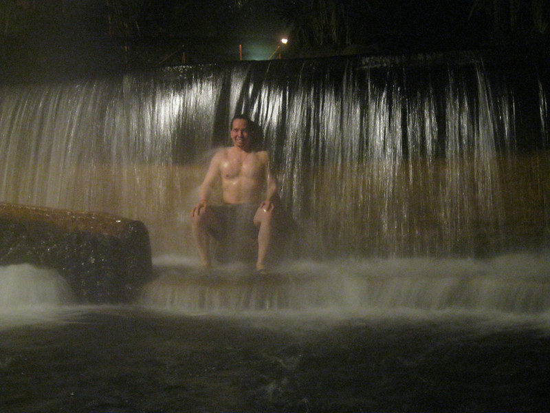 This hot springs waterfall is AMAZING!