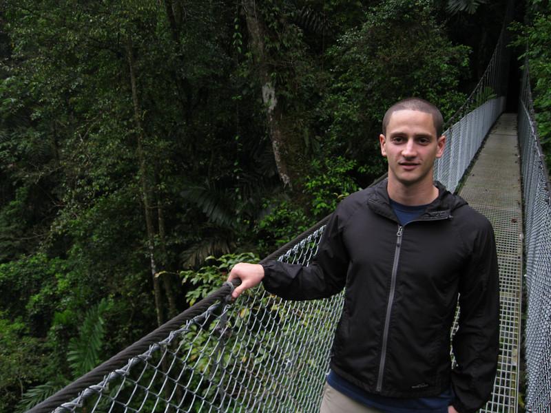 Hanging bridges in Arenal