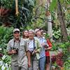 Birding the gardens with Rudy<br /> © David Larson