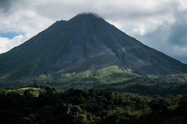 Arenal Volcano from La Fortuna