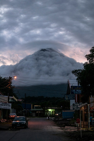 View of Arenal Volcano from La Fortuna