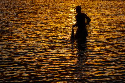 The Fisherman, Playa Giron, Cuba.