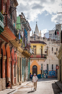 Walking the streets of Havana