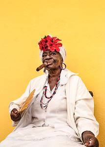 Cigar Lady, Havana