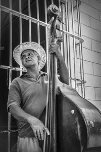 The Bass Player ... Trinidad ... Cuba